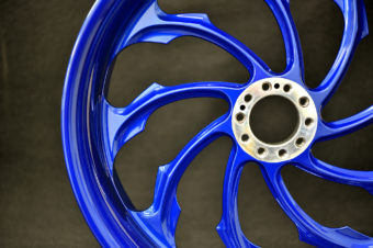 Wheel Powder Coating / Harley Davidson