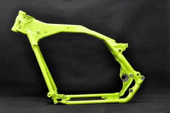 Frame & Swing Arm Powder Coating / Harley Davidson